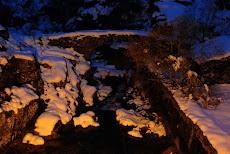 Nieve en Castrolaboreiro.