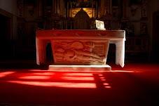 El altar.