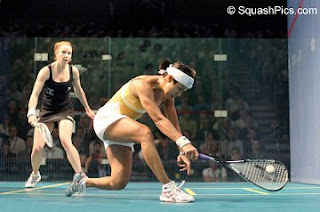 Nicol David v Vicky Botwright