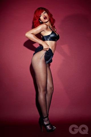 , Hot pics for Rihanna on GQ Magazine.