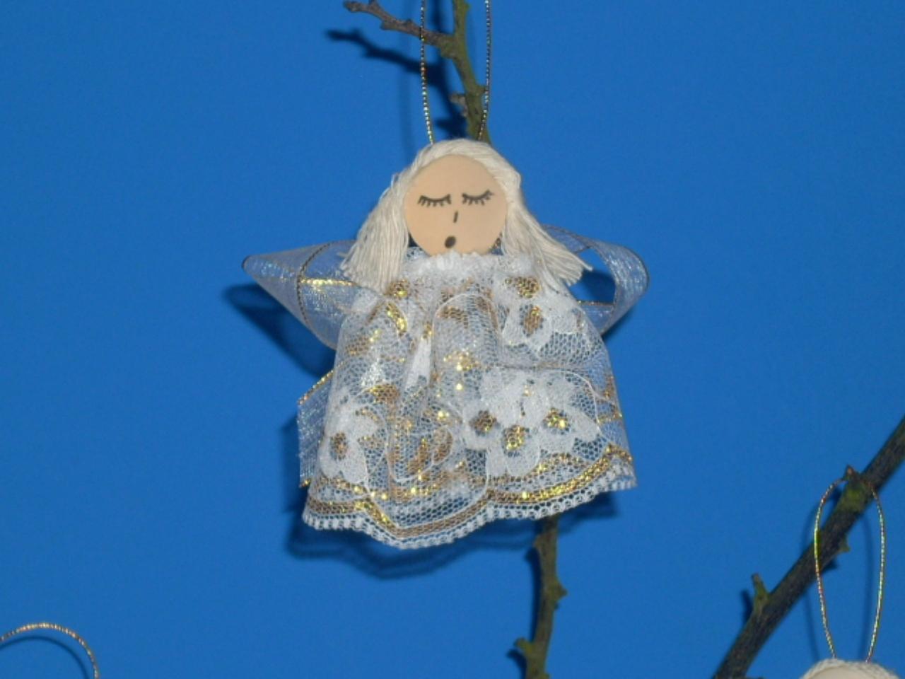 angeles para el arbol de navidad