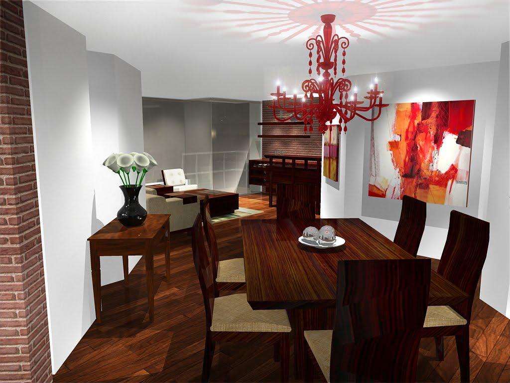 Ap dise o interior decoraci n apartamento chico for Decoracion apto