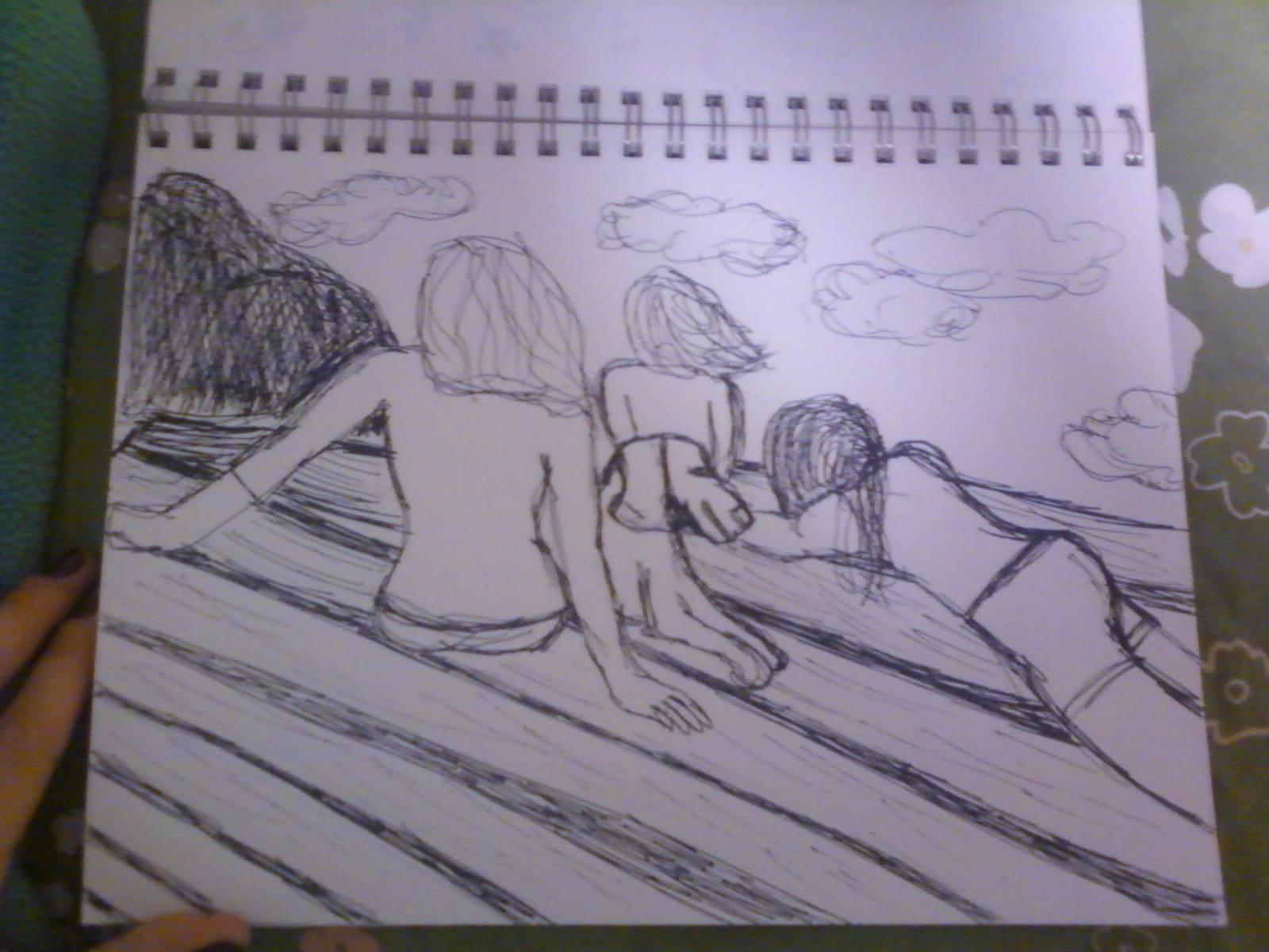 Umbra Ergo Sol Solis Sketch Of Spencer Pond