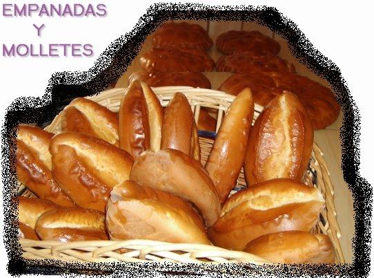 Empanadas y Molletes