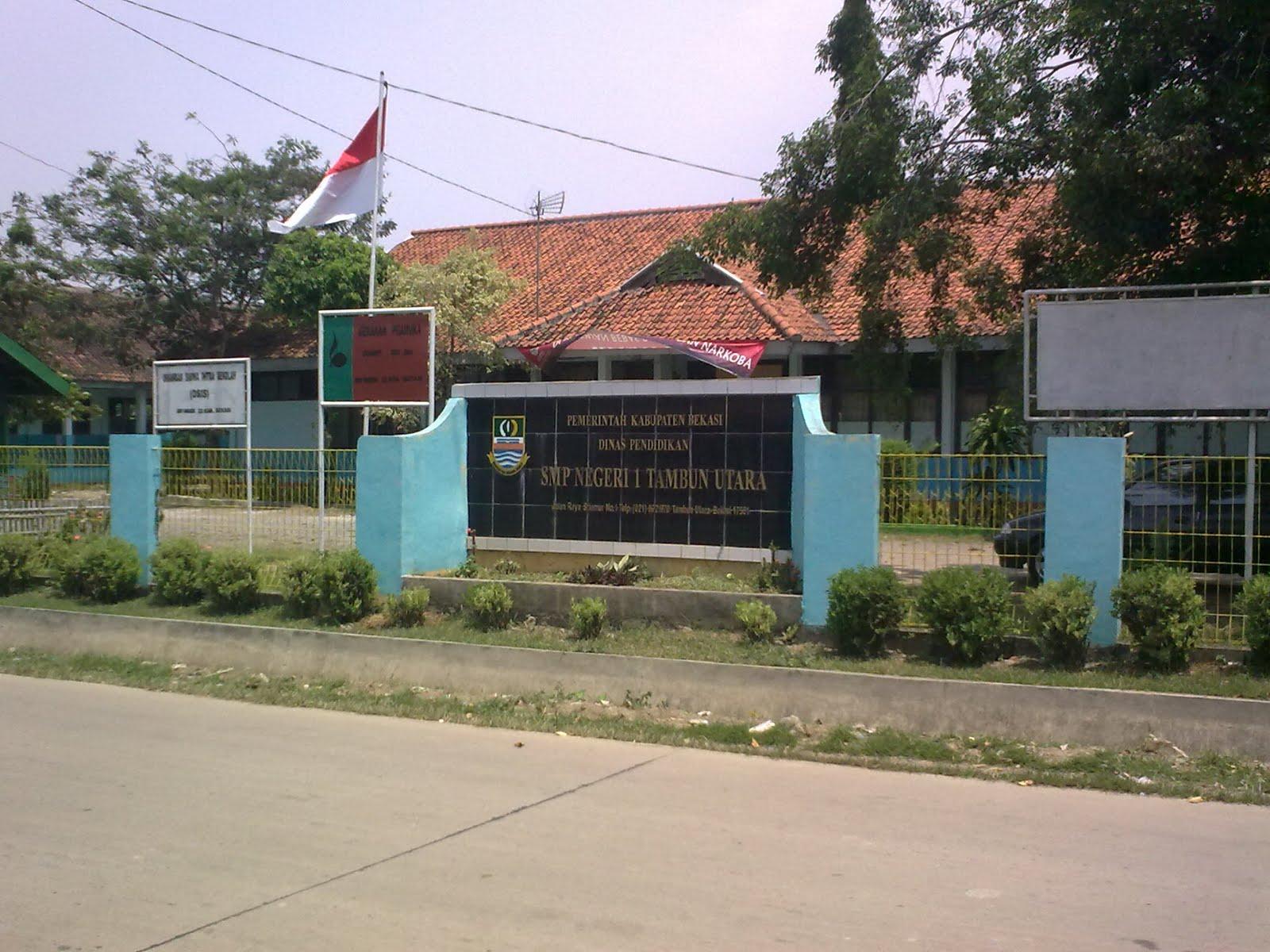 tambun adalah smp yang pertama berdiri di wilayah kecamatan tambun