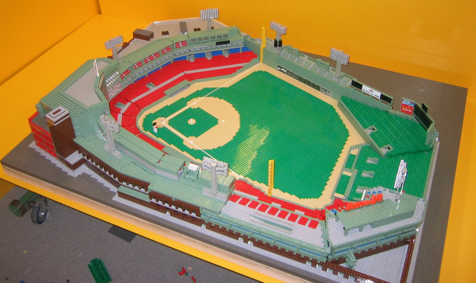 lego fenway park instructions