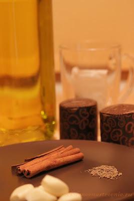 Баранина с корицей и чаем