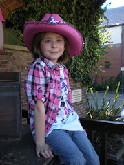My little cowgirl..