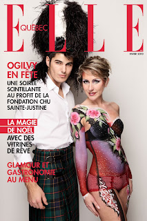 The Art of Jinny on the cover of Elle, Quebec