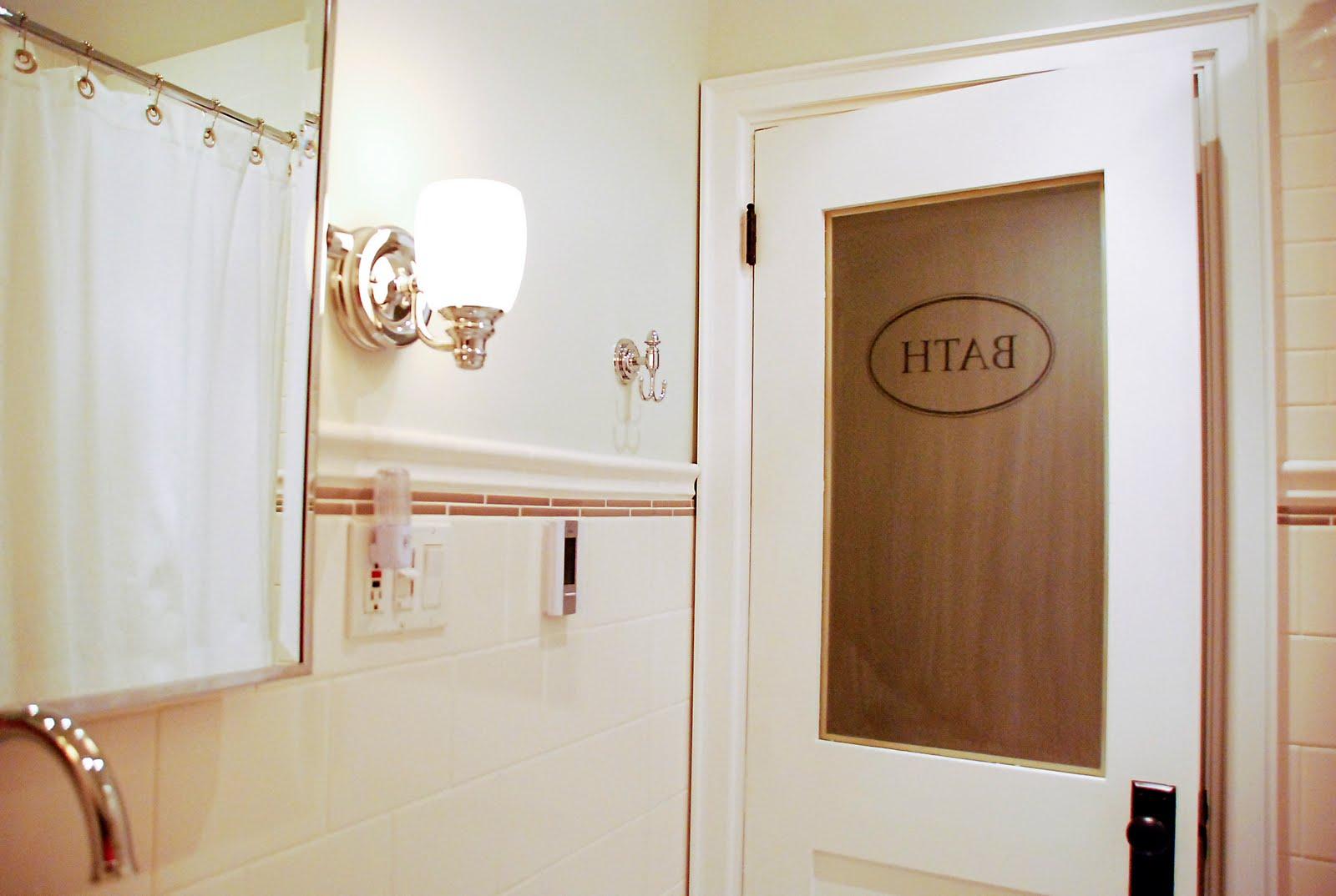 La salle de bain c 39 est fini rambling renovators - What does salle de bain mean in english ...