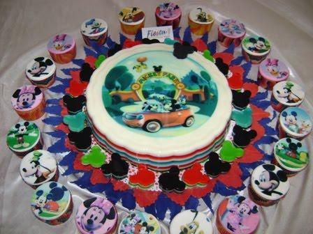 Tortas y Pasteles Bianca: Gelatina Mickey Mouse