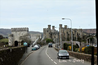Going into Conwy