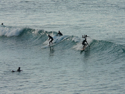 Sesión de surf del 9 de Enero del 2009
