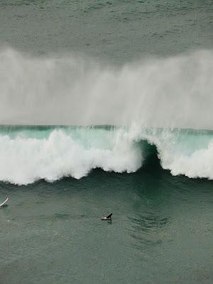 Sesion surf 12 Enero 2009 Sopelana Meñakoz