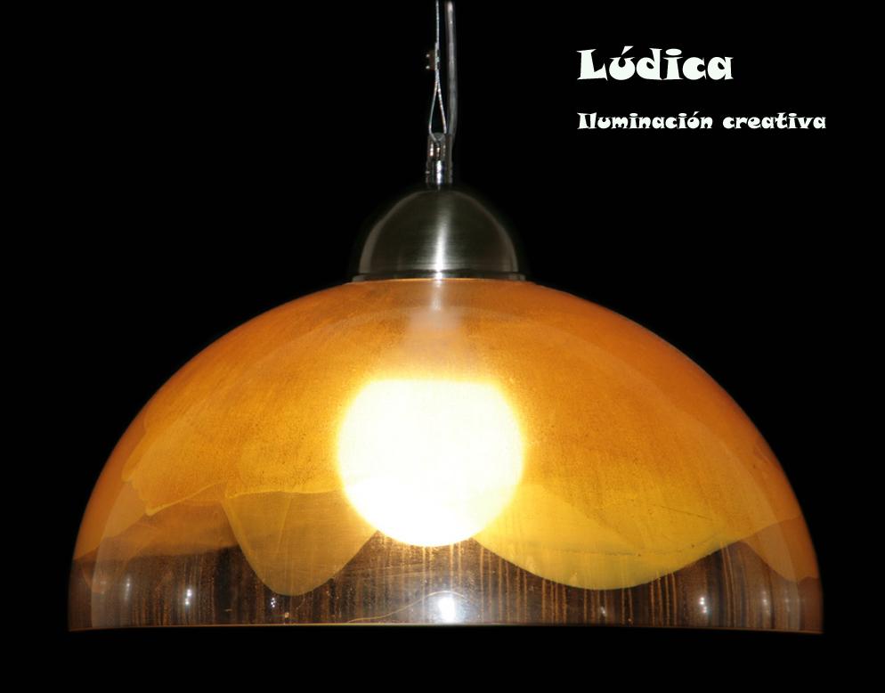 Ludica iluminacion lamparas de acrilico de techo colgantes - Diseno lamparas colgantes ...