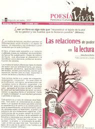 Periodico Cultural Poesía Viva