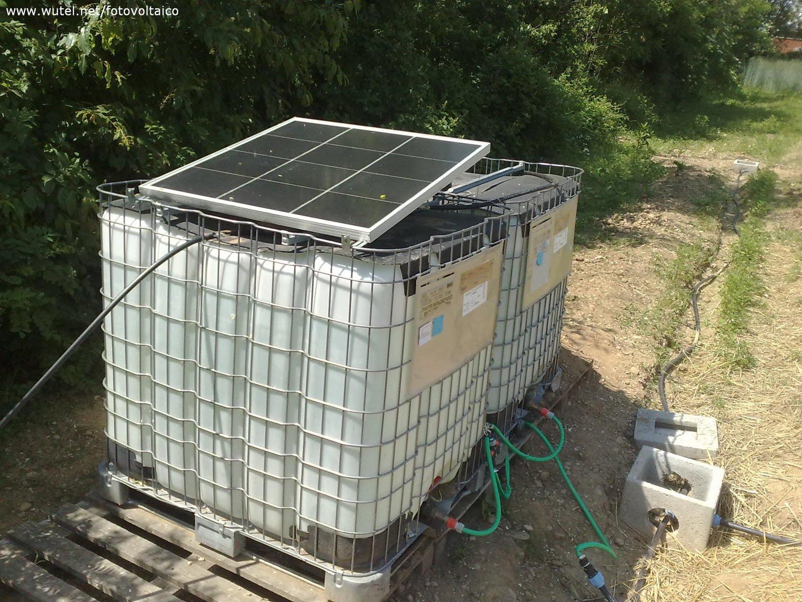 Pannello Solare Per Pompa Pozzo : Gasorto di biassono mb acqua dal sole