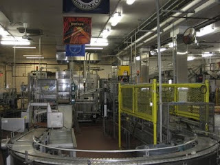 Bottling line at BridgePort