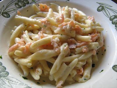 Ricette philadelphia pasta salmone