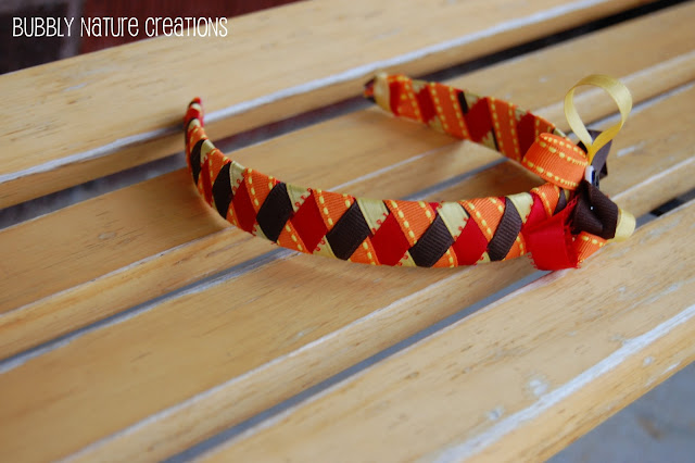 gift presents for a little girls: turkey headband or hair clip tutorial
