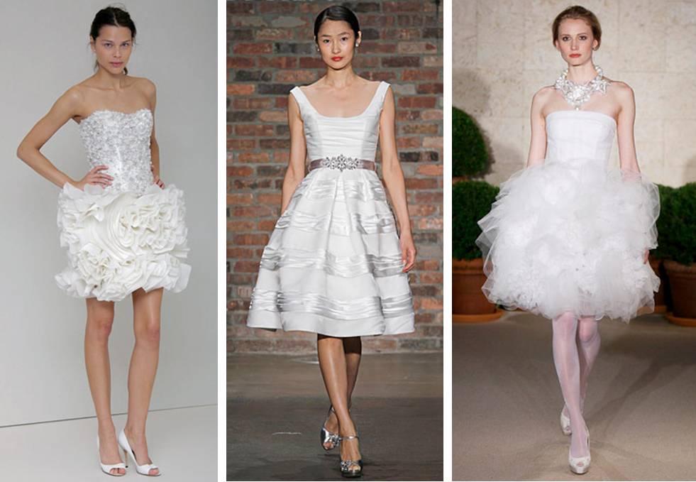 Short Wedding Dresses 2010