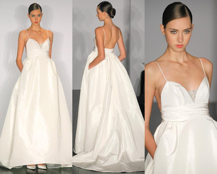 Wedding Dress Style With Pockets