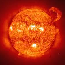 matahari padam, gejala matahari, pusat tata surya, benda ruang angkasa