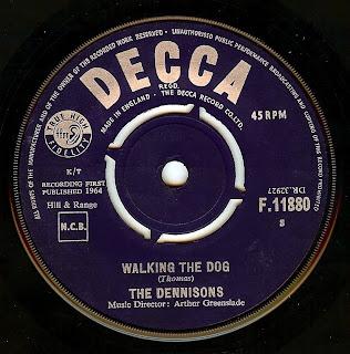 Dennisons Walking The Dog