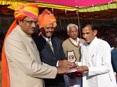 गणतंत्र दिवस पर जिला प्रशासन, चूरू द्वारा साहित्यिक सेवाओं के लिए सम्मान