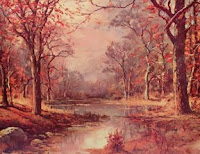 October Morn by Robert Wood