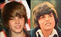 Justin Bieber and Donny Osmond