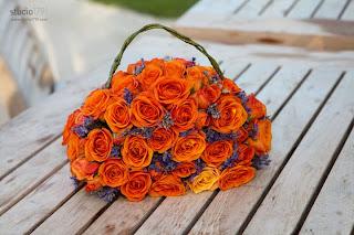 Flower girl's purse