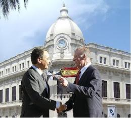 Zapatero y el Rey en Ceuta