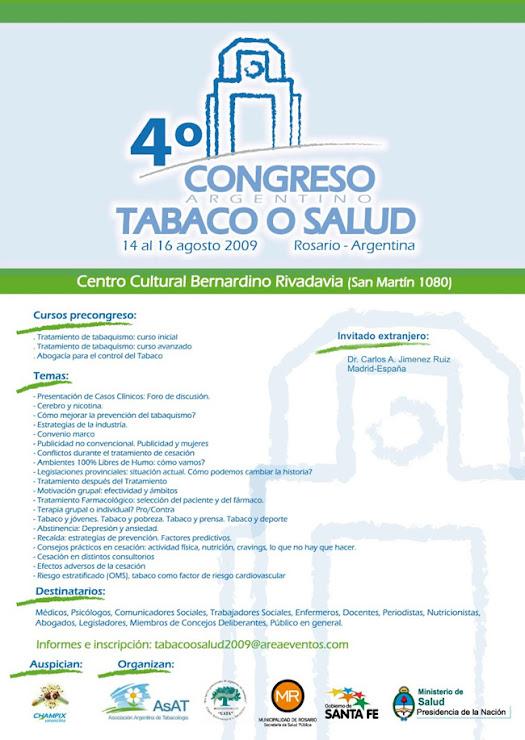 AFICHES DE CONGRESOS Y JORNADAS 2009