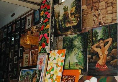 Balinese Art Shop