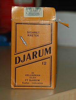 Djarum browns non filter clove cigarettes