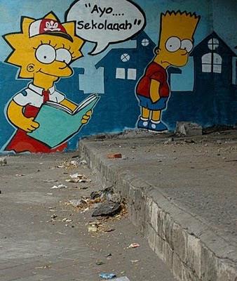 Graffiti art Jakarta