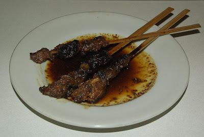 Lamb sate (sate kambing) recipe