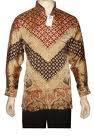garish batik shirt