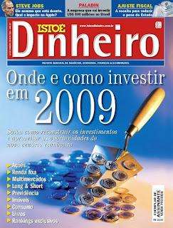 Revista Isto é Dinheiro - 14 de Janeiro de 2009