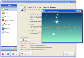 Flash Intro and Banner Maker 2.0.85