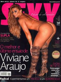 Revista Sexy - Edição de Colecionador - Viviane Araújo - Março 2009