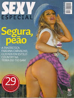Sexy Especial - Fabiana Carvalho - Agosto de 2009