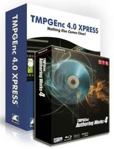 TMPGEnc Xpress + TMPGEnc Authoring Works v4
