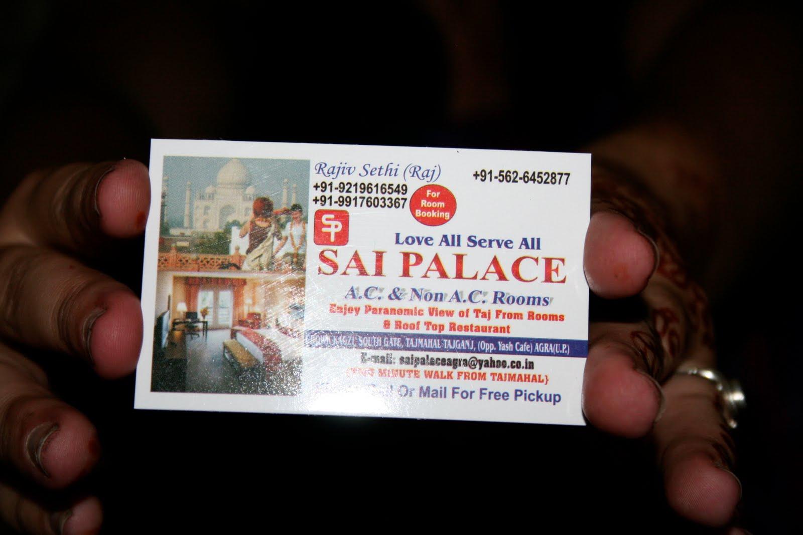 hotel om sai palace agra