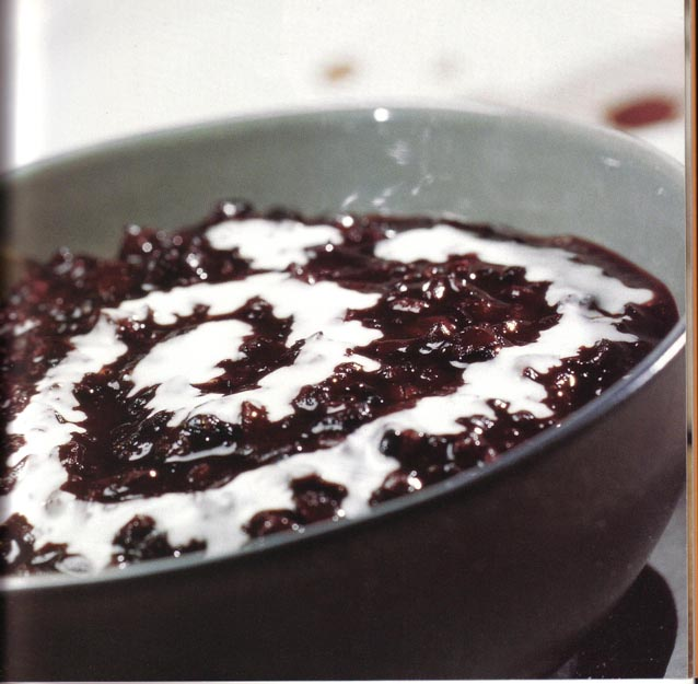 Rice Tin With Fruit NYC Pie with Jam Photos: Black Rice Pudding Rice ...