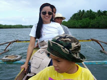 A motorboat ride to Ando Island