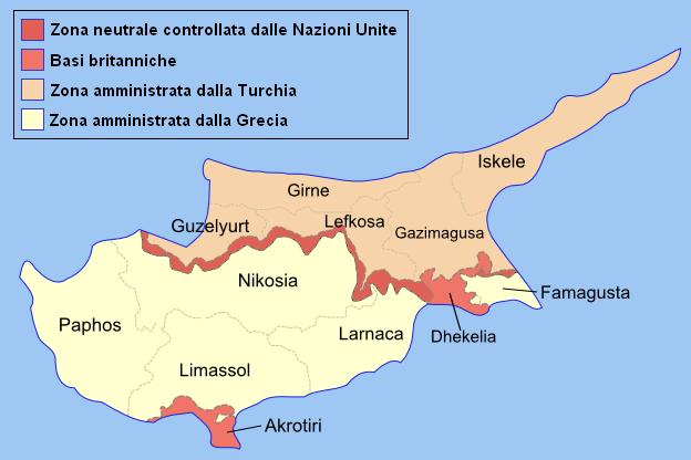 Geopolitica stati del mondo 39 cipro for Repubblica politica