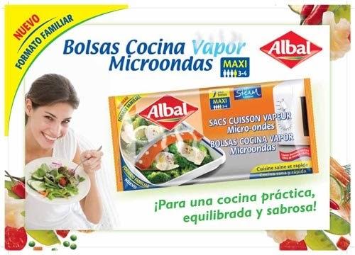 Reportajes en la red bolsas cocina vapor microondas de albal cocina sana pr ctica y sabrosa - Cocina al vapor microondas ...