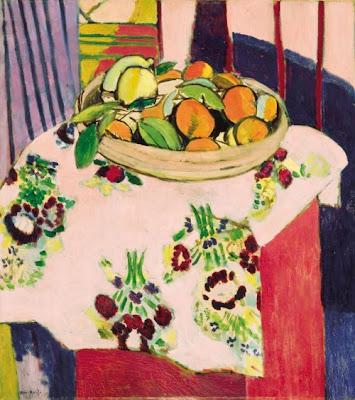 Henri Matisse -  Still life with oranges